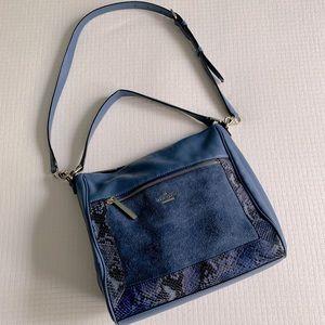Kate Spade blue leather purse